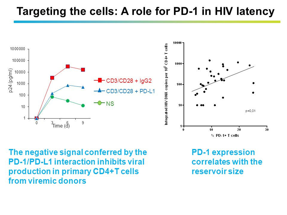 Targeting the cells: A role for PD-1 in HIV latency