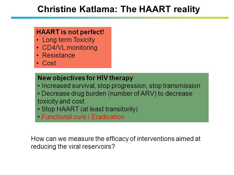Christine Katlama: The HAART reality