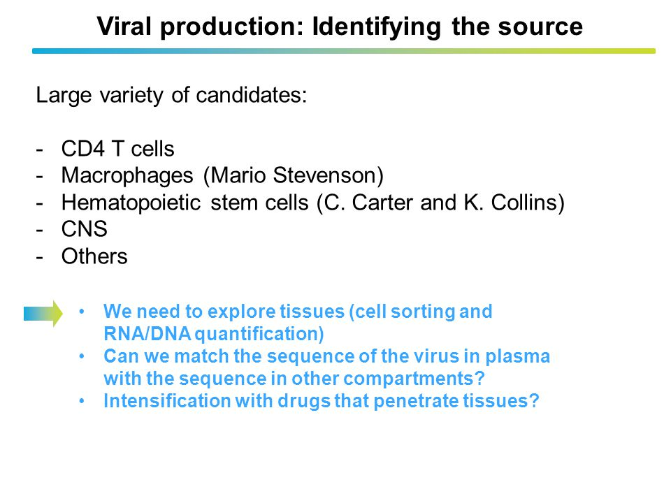 Viral production: Identifying the source