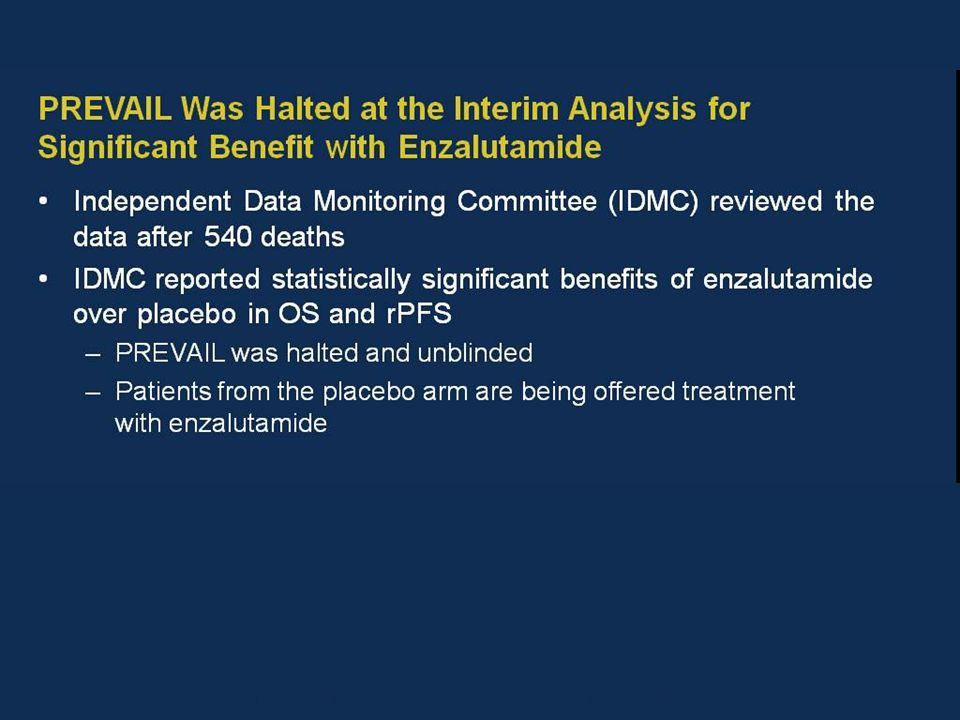 Presented By Andrew Armstrong at 2014 ASCO Annual Meeting