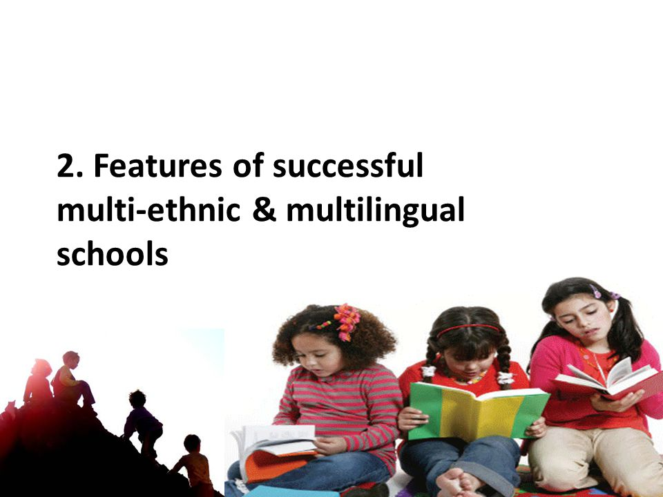 2. Features of successful multi-ethnic & multilingual schools