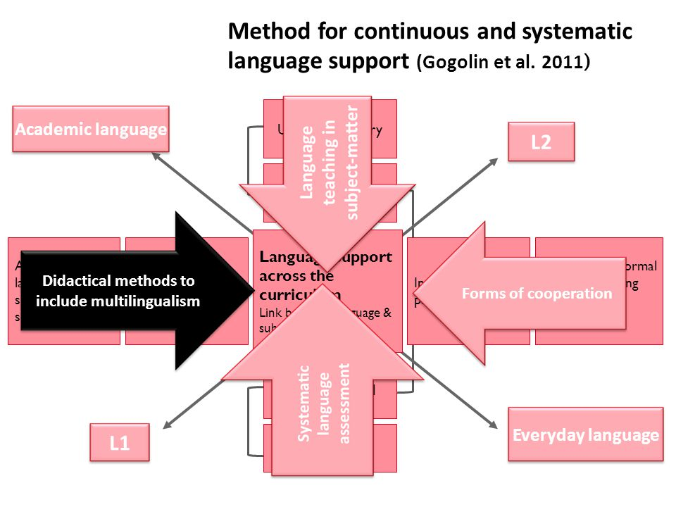 Didactical methods to include multilingualism