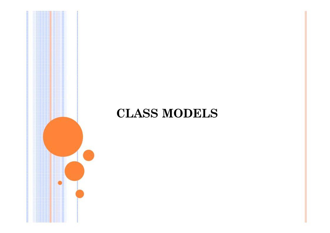 CLASS MODELS
