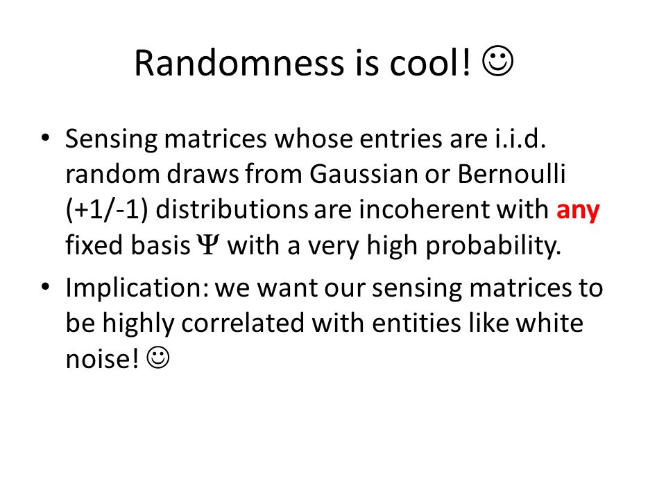 Randomness is cool! 