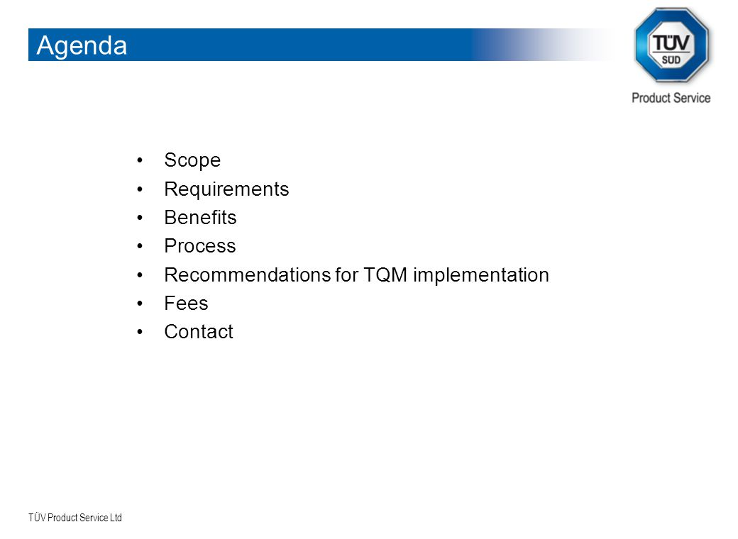 Agenda Scope Requirements Benefits Process