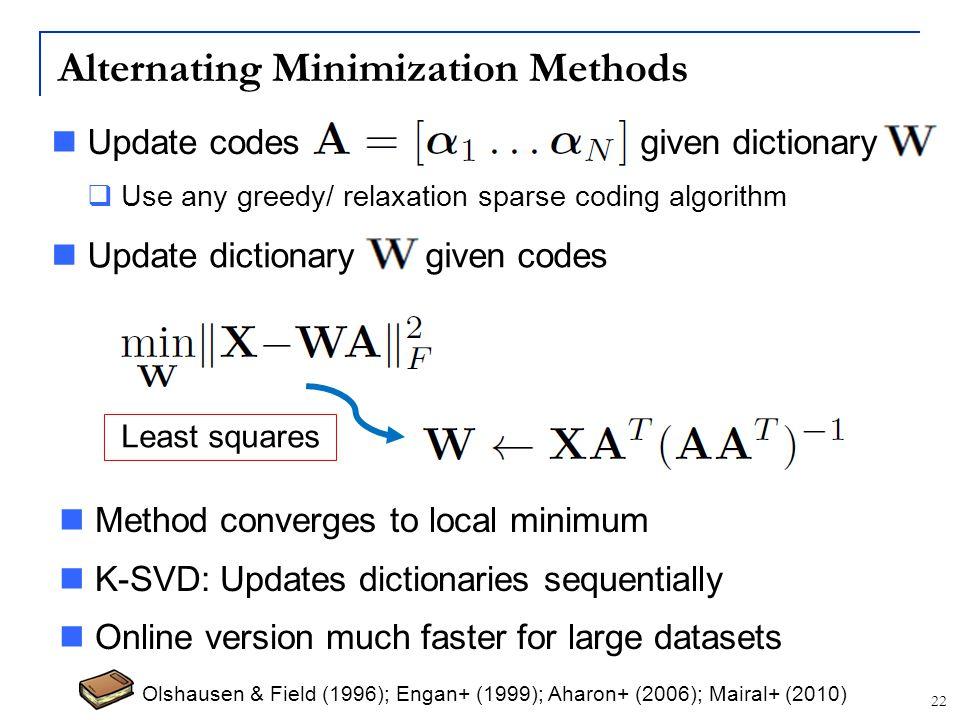 Alternating Minimization Methods