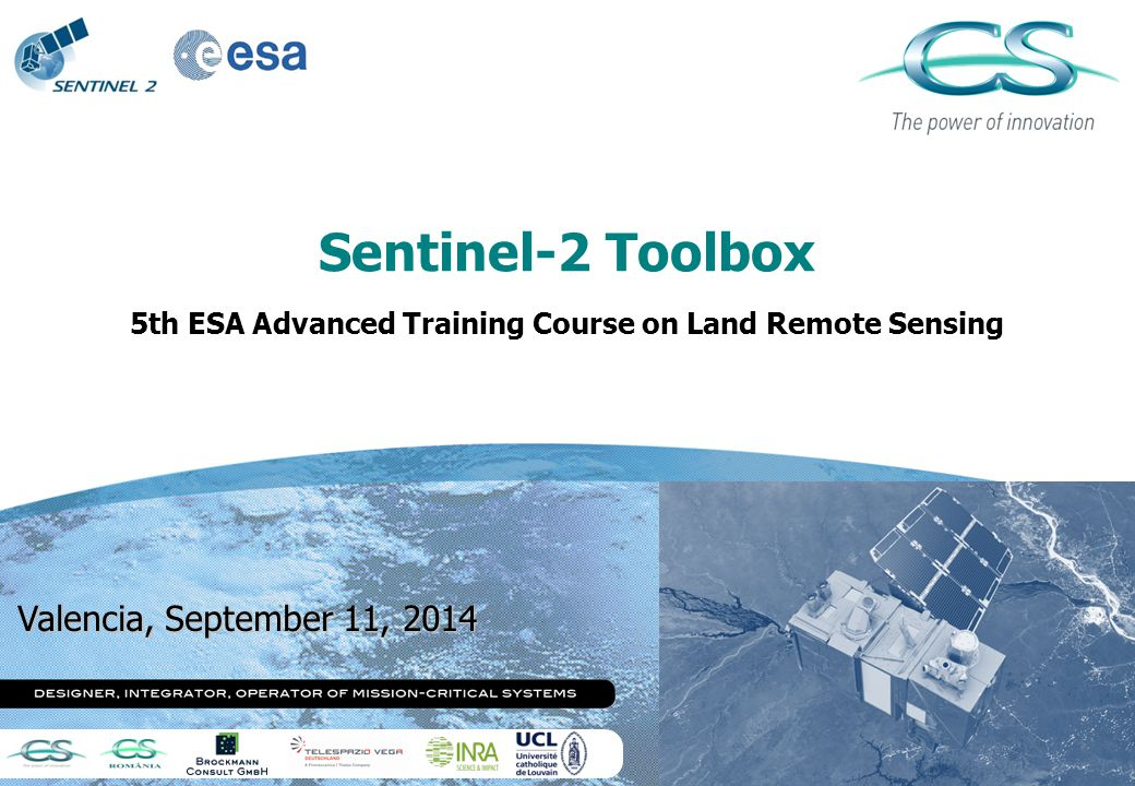 5th ESA Advanced Training Course on Land Remote Sensing