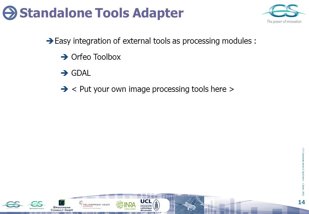 Standalone Tools Adapter