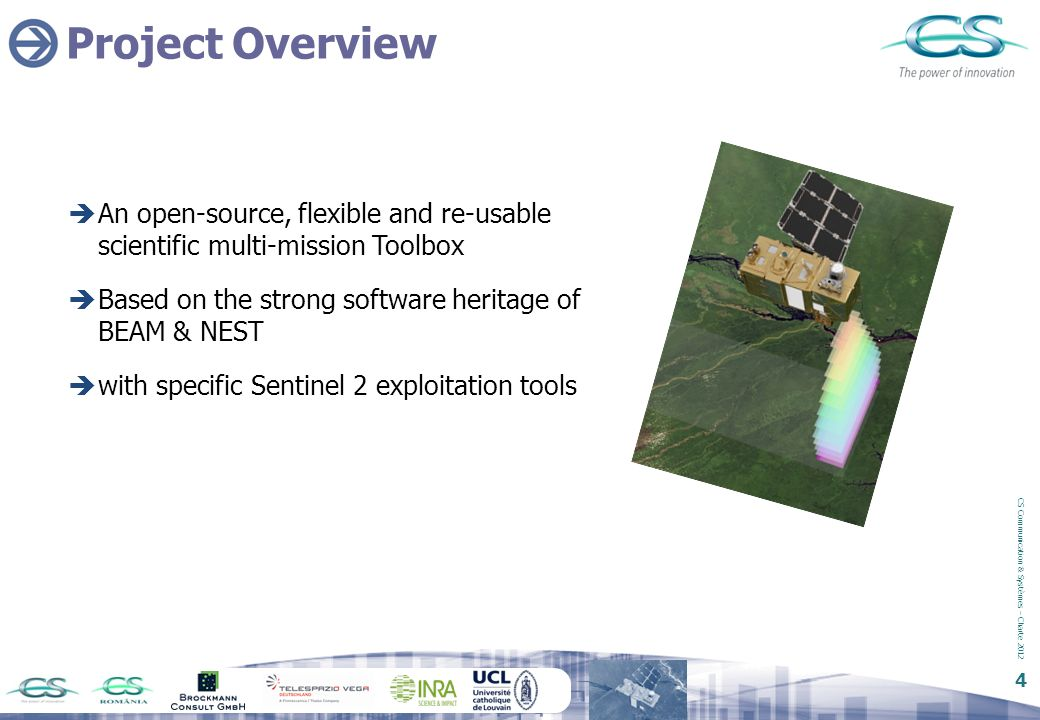 Project Overview An open-source, flexible and re-usable scientific multi-mission Toolbox. Based on the strong software heritage of BEAM & NEST.