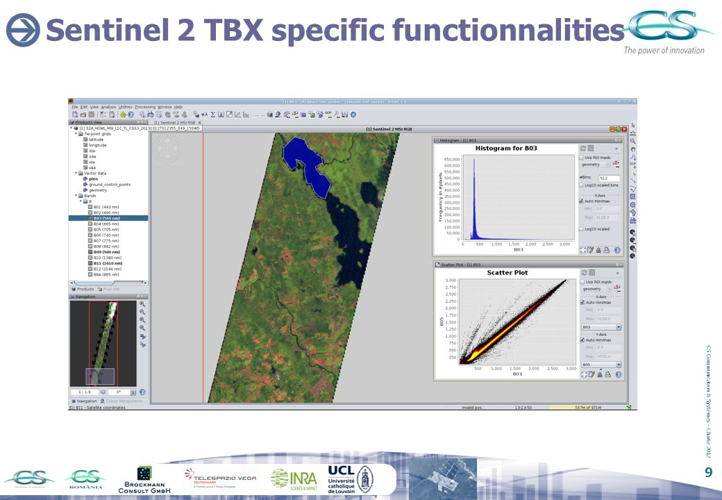 Sentinel 2 TBX specific functionnalities