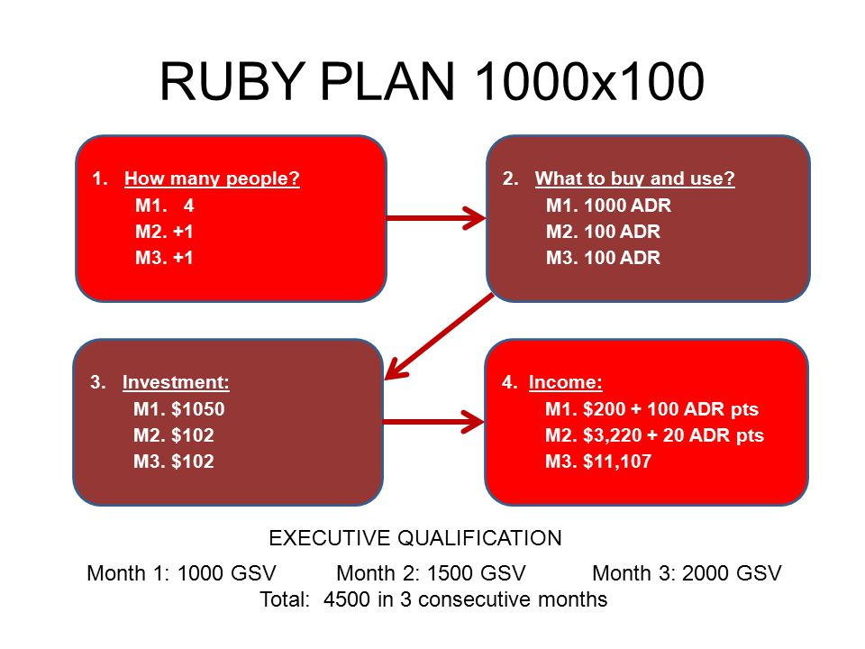 RUBY PLAN 1000x100 EXECUTIVE QUALIFICATION