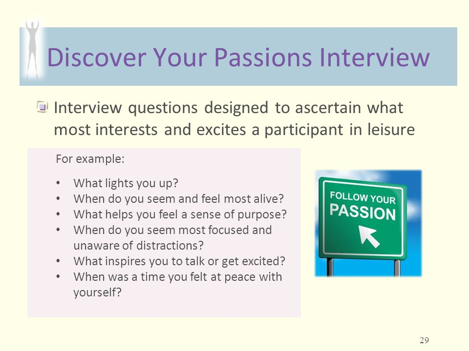 Discover Your Passions Interview