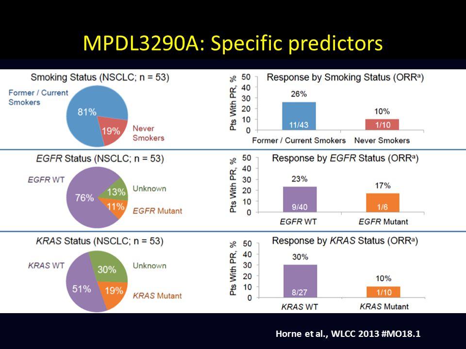 MPDL3290A: Specific predictors