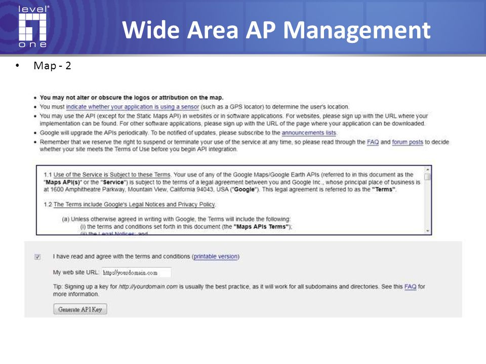 Wide Area AP Management