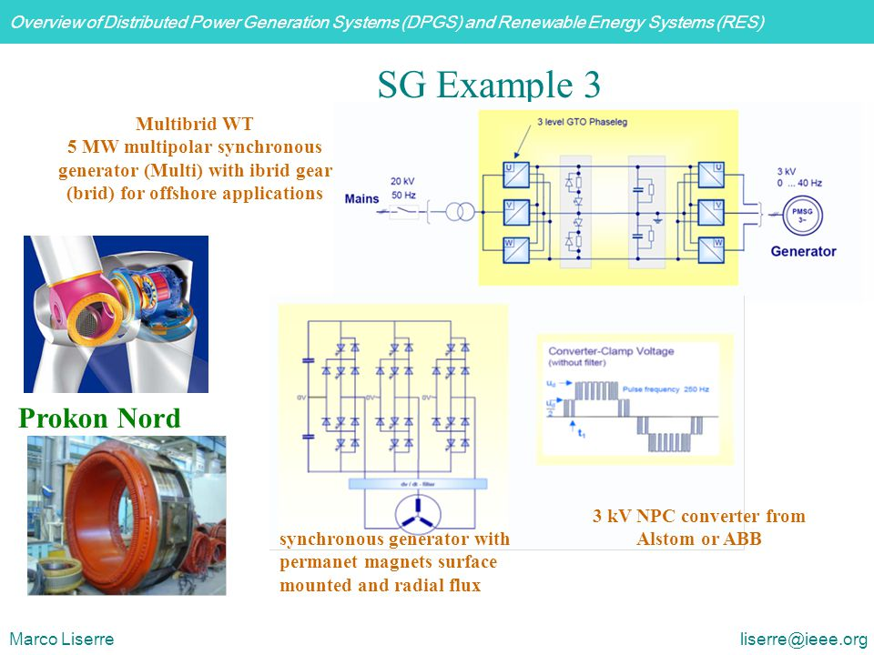 3 kV NPC converter from Alstom or ABB