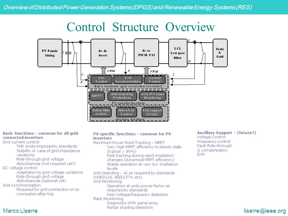 Control Structure Overview