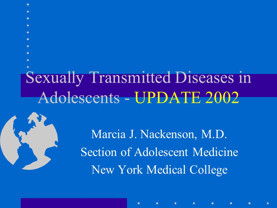 Sexually transmitted diseases lecture method