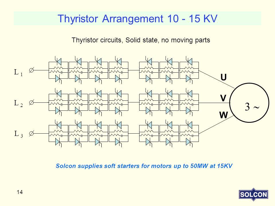 Thyristor Arrangement 10 - 15 KV
