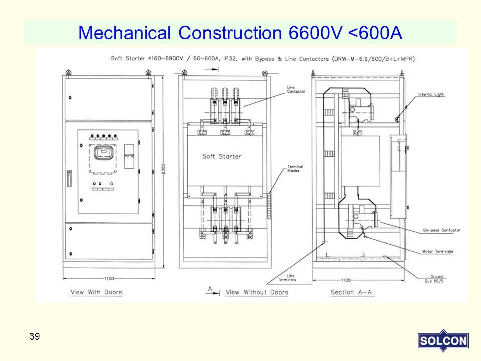 Mechanical Construction 6600V <600A