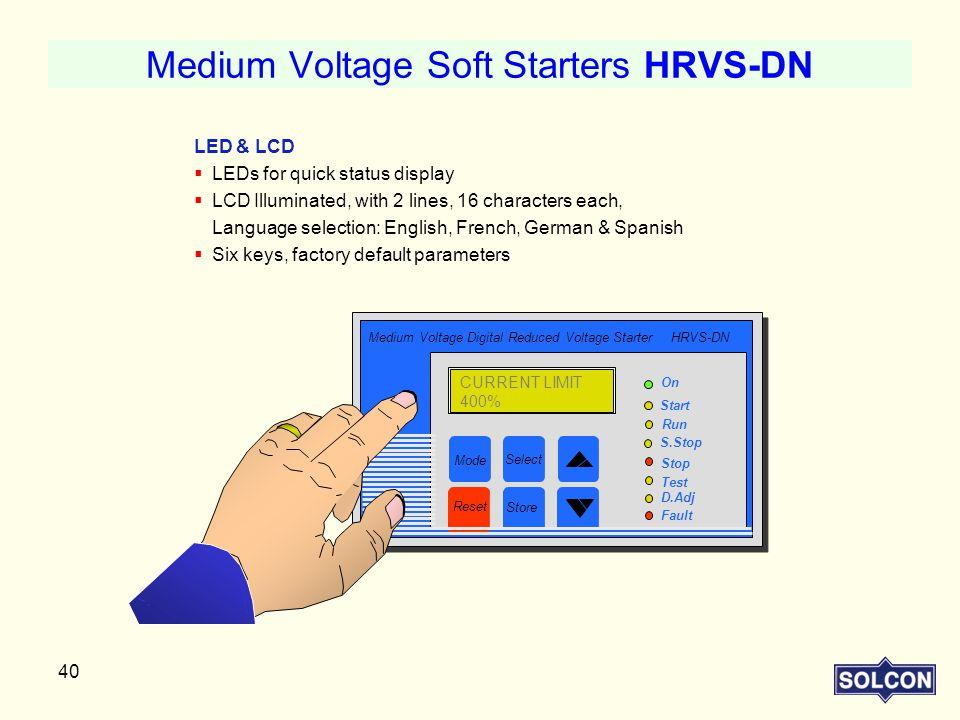 Medium Voltage Soft Starters HRVS-DN