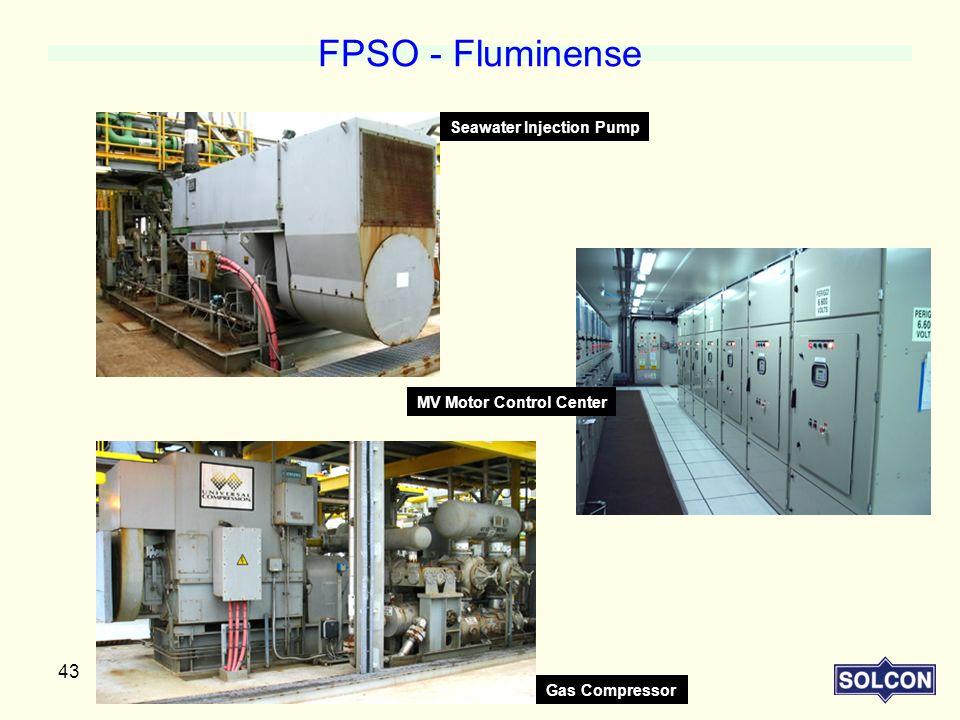FPSO - Fluminense Seawater Injection Pump MV Motor Control Center
