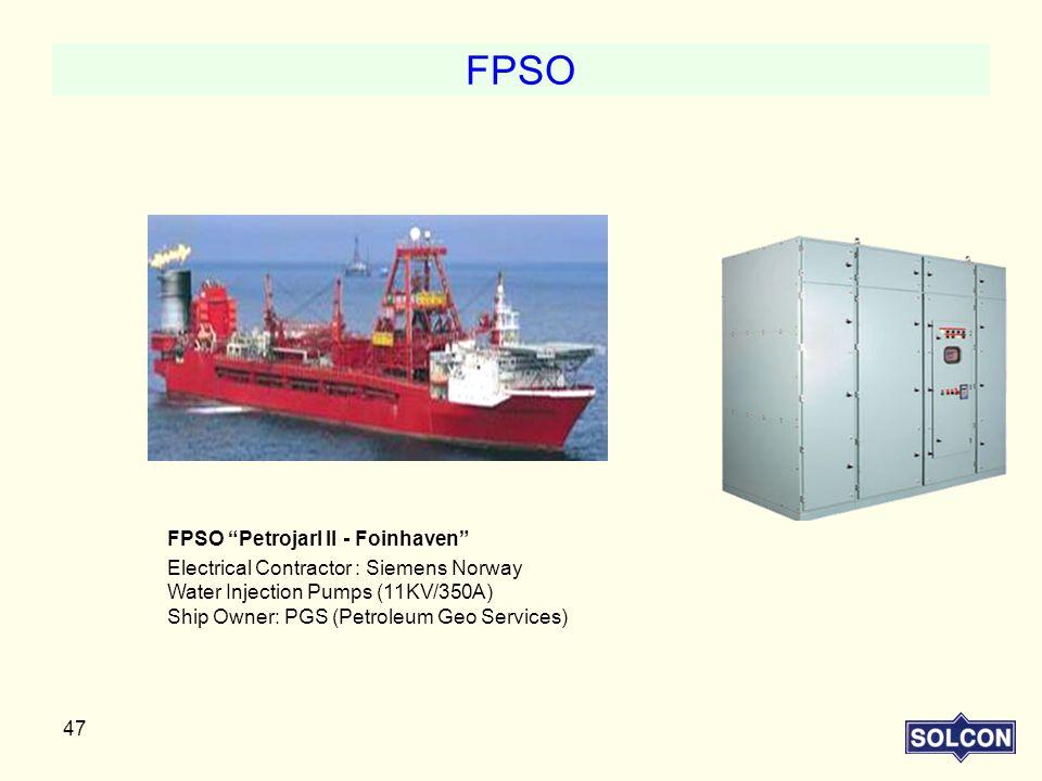 FPSO FPSO Petrojarl II - Foinhaven
