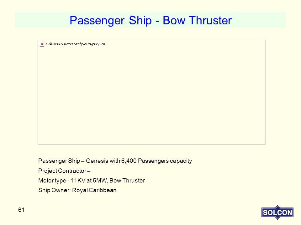 Passenger Ship - Bow Thruster