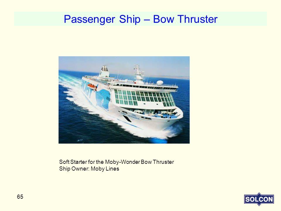 Passenger Ship – Bow Thruster