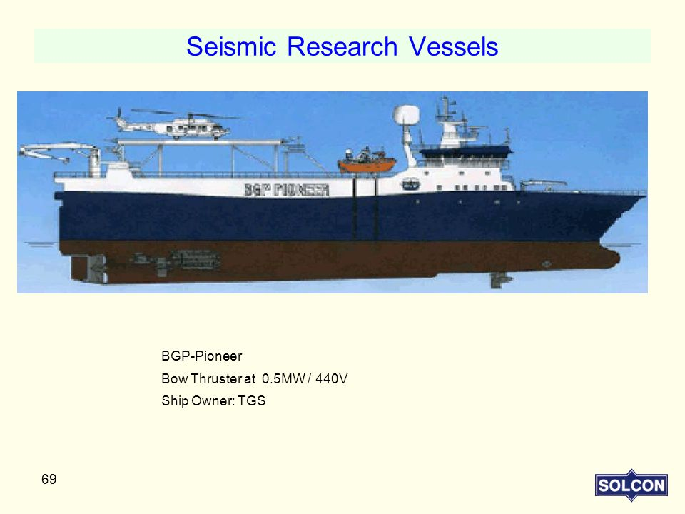 Seismic Research Vessels