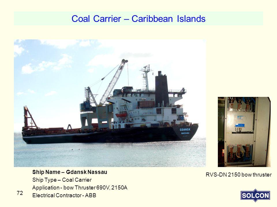 Coal Carrier – Caribbean Islands