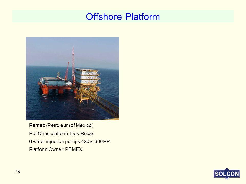 Offshore Platform Pemex (Petroleum of Mexico)