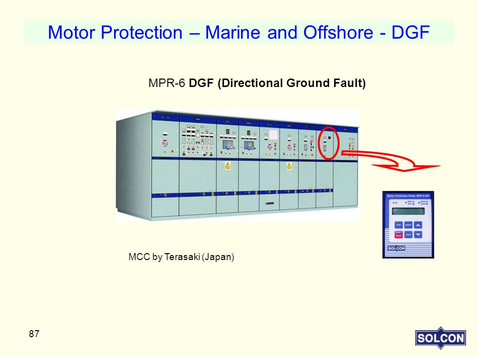 Motor Protection – Marine and Offshore - DGF