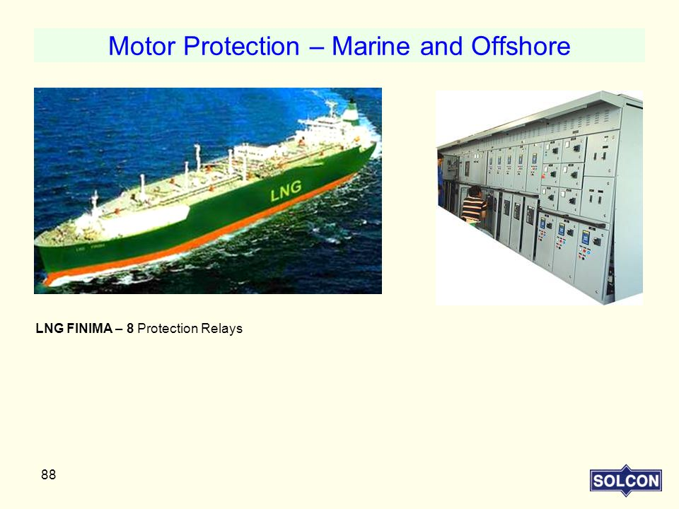 Motor Protection – Marine and Offshore