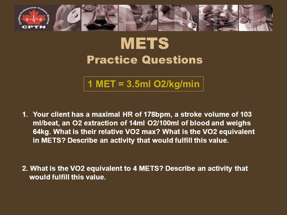 METS Practice Questions