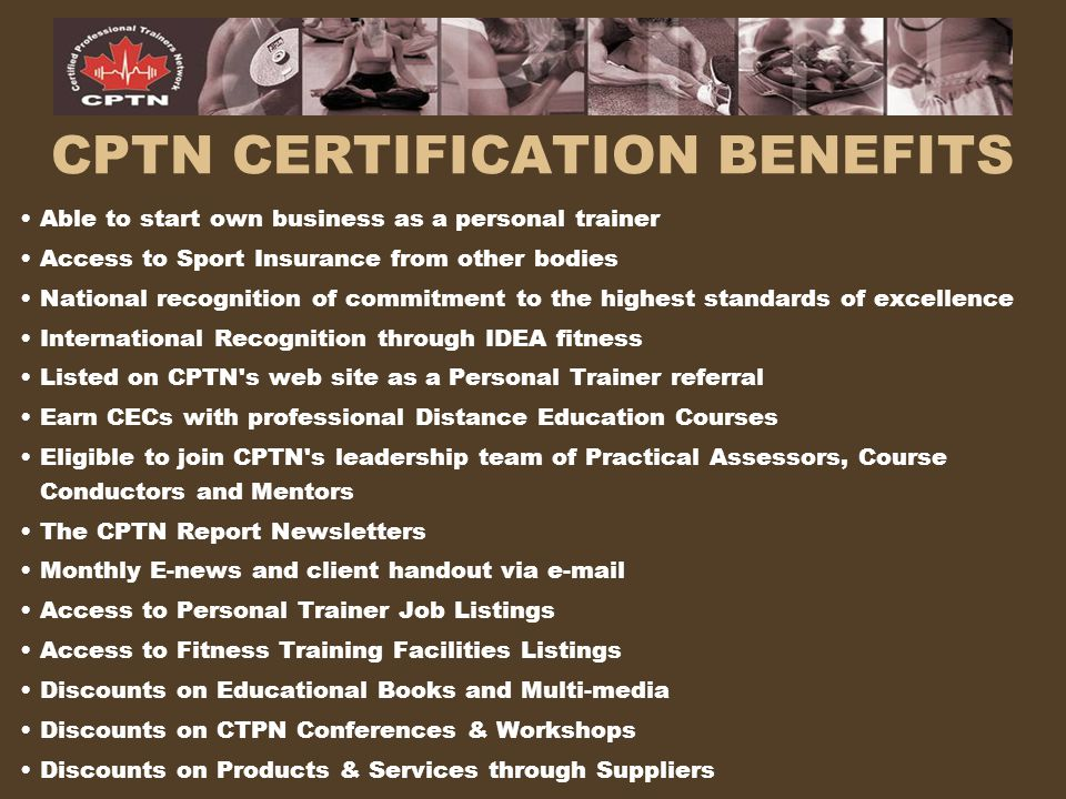 CPTN CERTIFICATION BENEFITS
