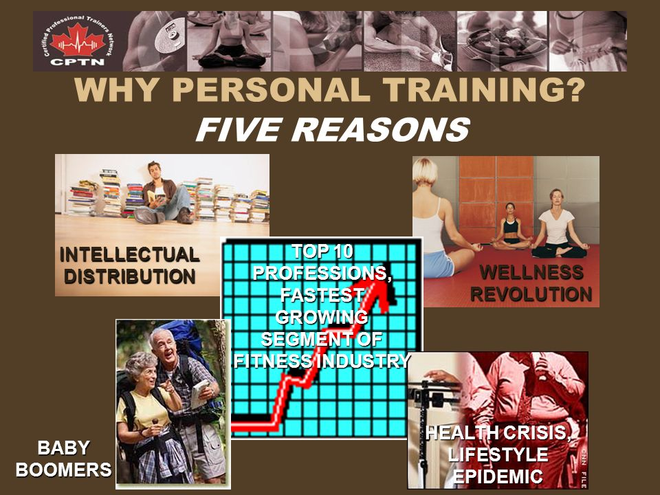 WHY PERSONAL TRAINING FIVE REASONS