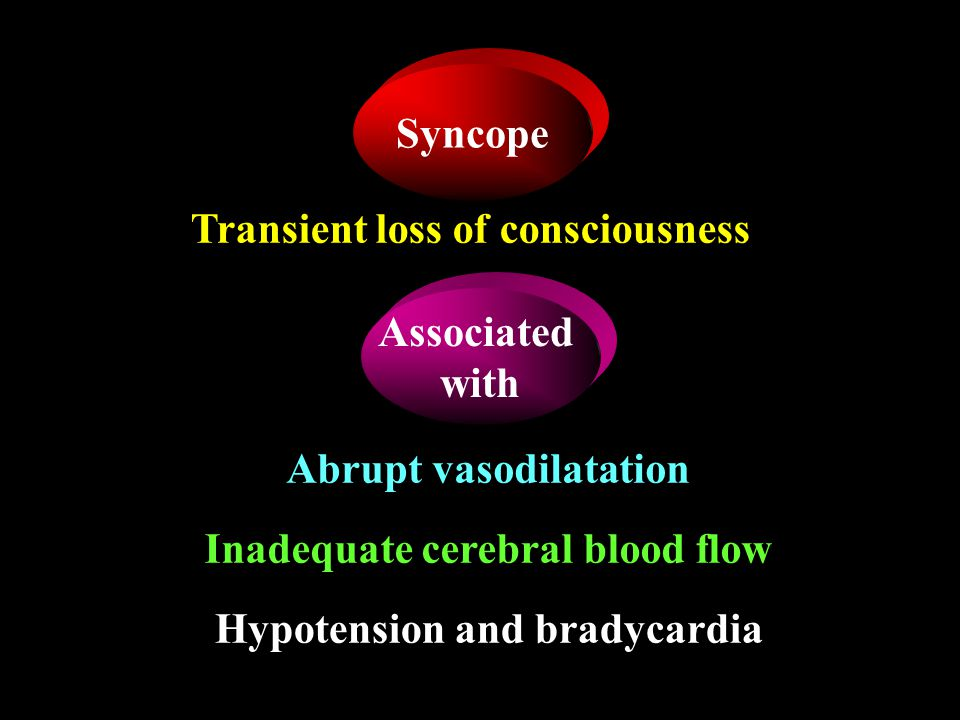 Transient loss of consciousness