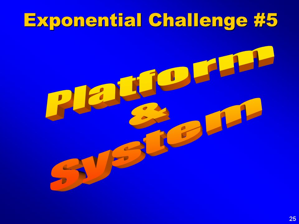 Exponential Challenge #5