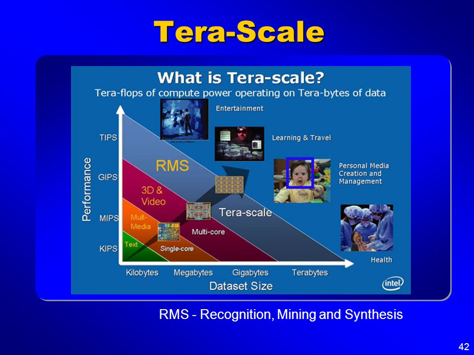 Tera-Scale RMS - Recognition, Mining and Synthesis