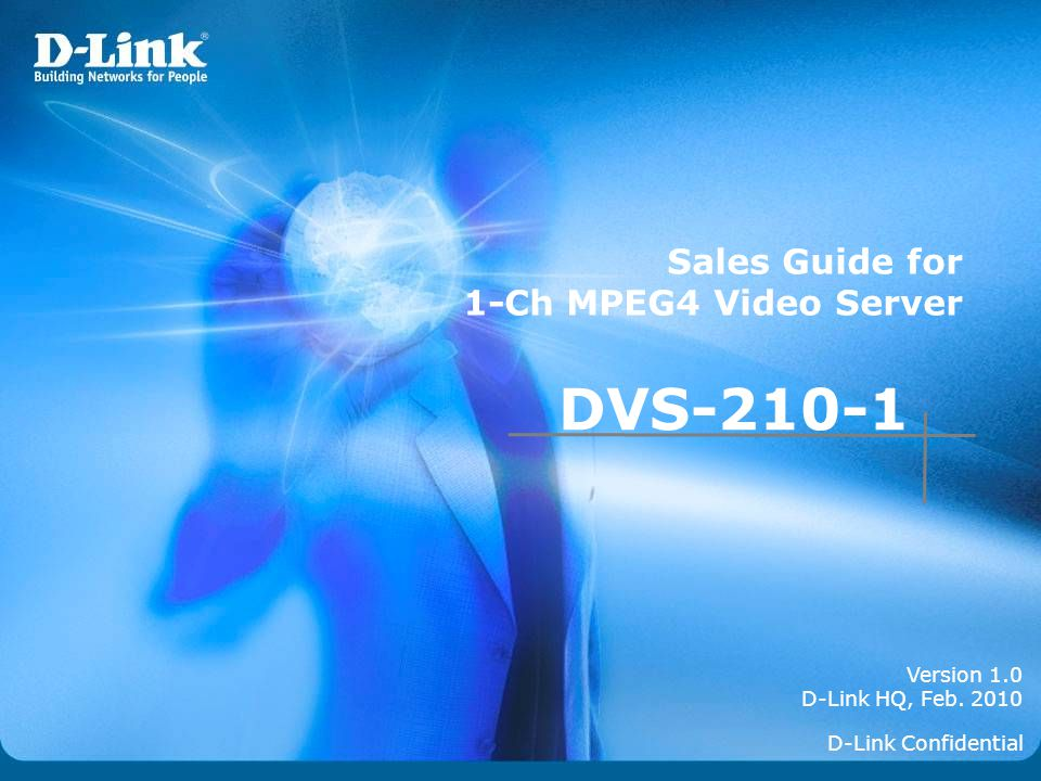 DVS-210-1 Sales Guide for 1-Ch MPEG4 Video Server