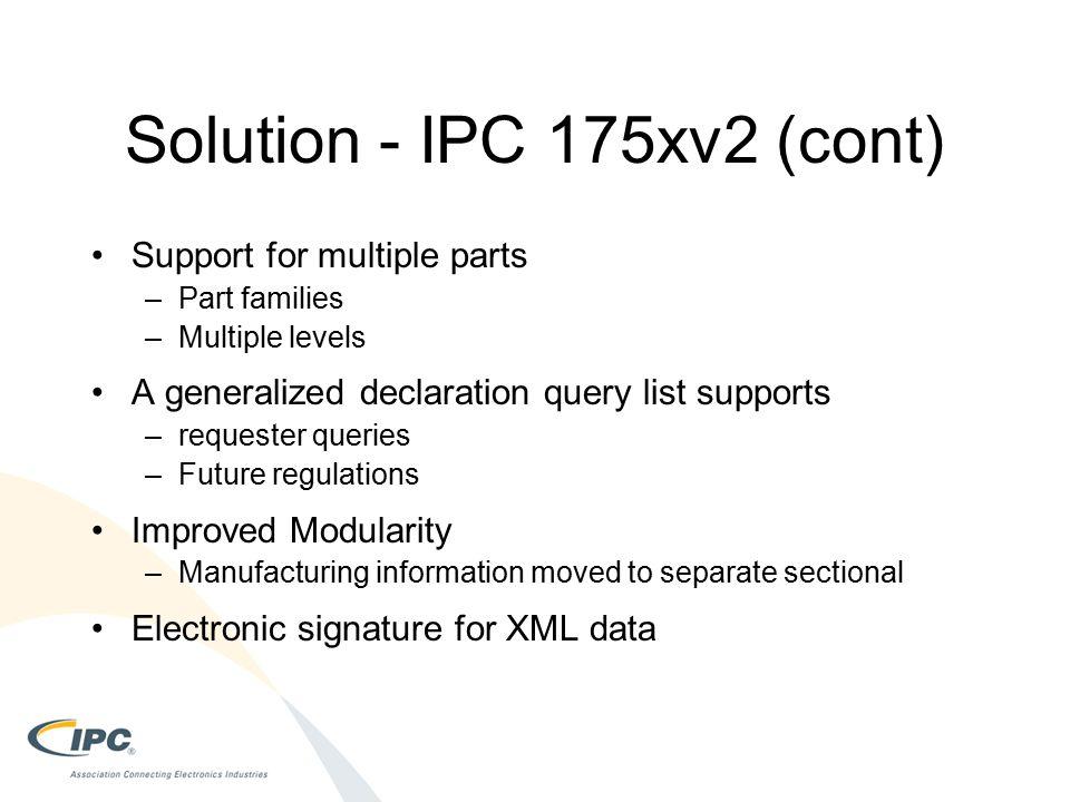 Solution - IPC 175xv2 (cont)