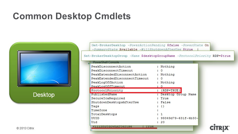 Common Desktop Cmdlets