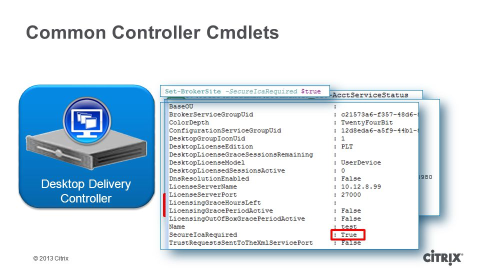 Common Controller Cmdlets