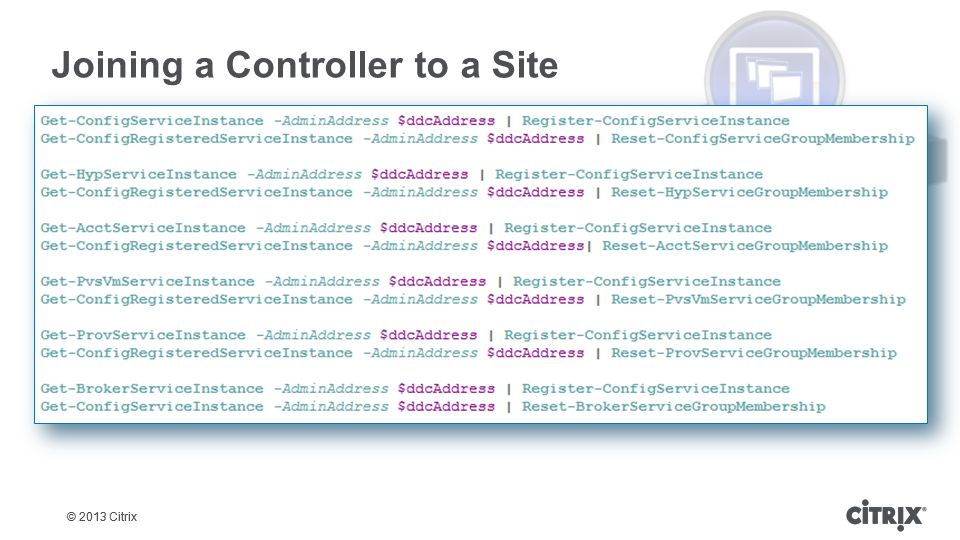 Joining a Controller to a Site