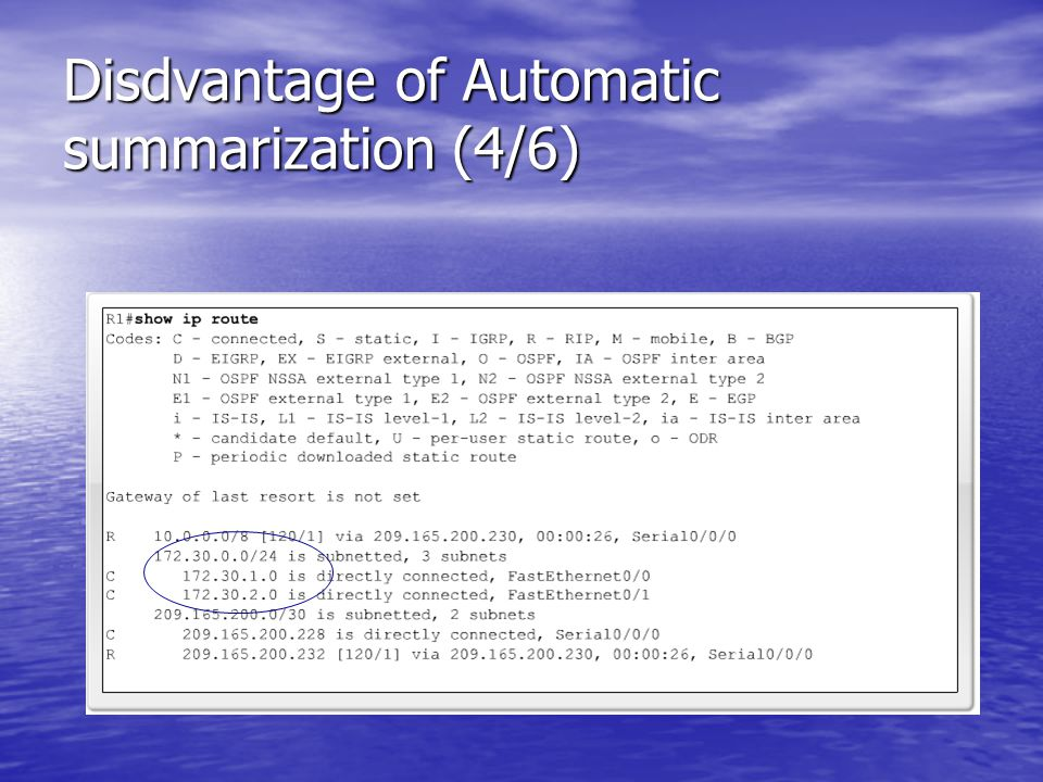 Disdvantage of Automatic summarization (4/6)