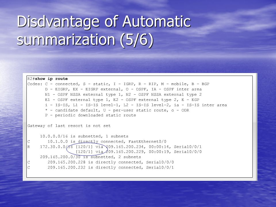Disdvantage of Automatic summarization (5/6)