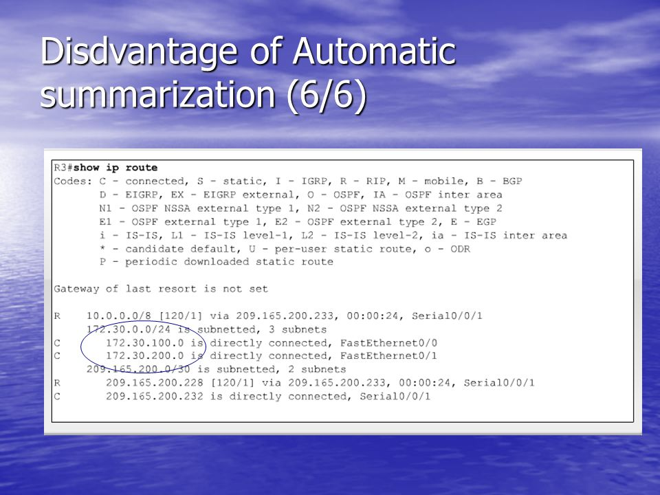 Disdvantage of Automatic summarization (6/6)
