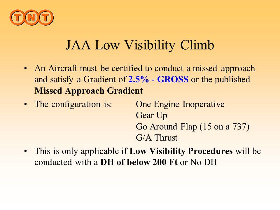 JAA Low Visibility Climb