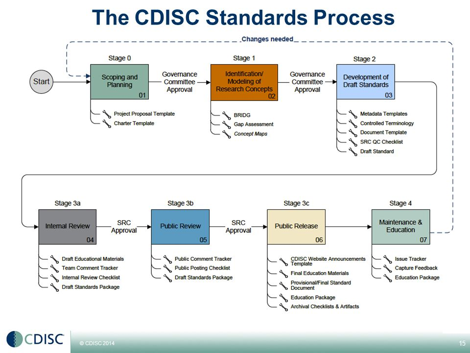 The CDISC Standards Process