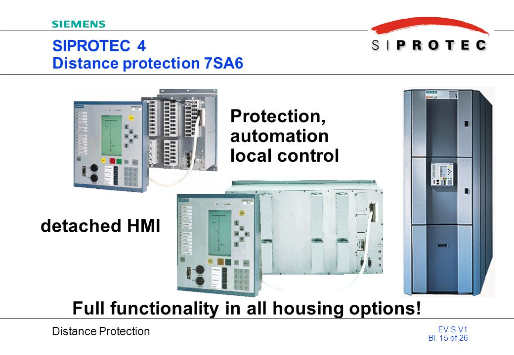 SIPROTEC 4 Distance protection 7SA6